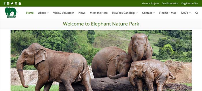 Elephant Nature Park opiniones