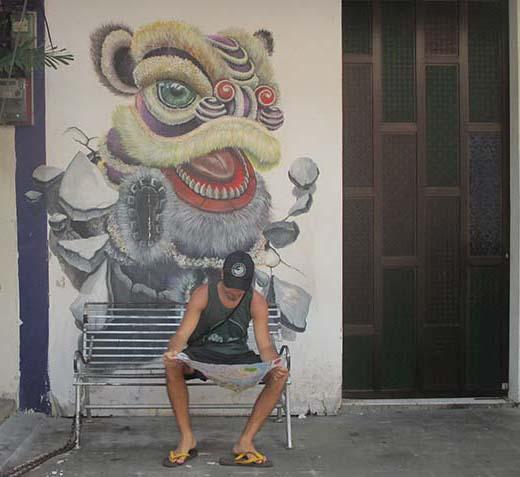 """Street Art"" Arte callejero en Georgetown"