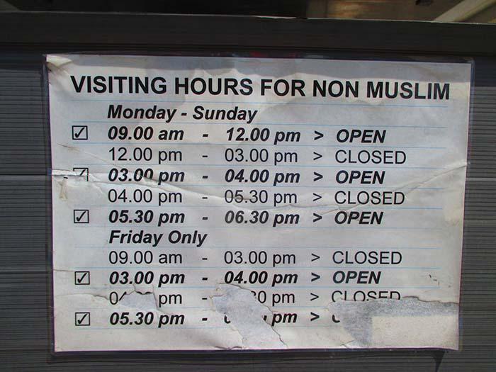 Masjid Negara National Mosque Viviendoporelmundo (26)