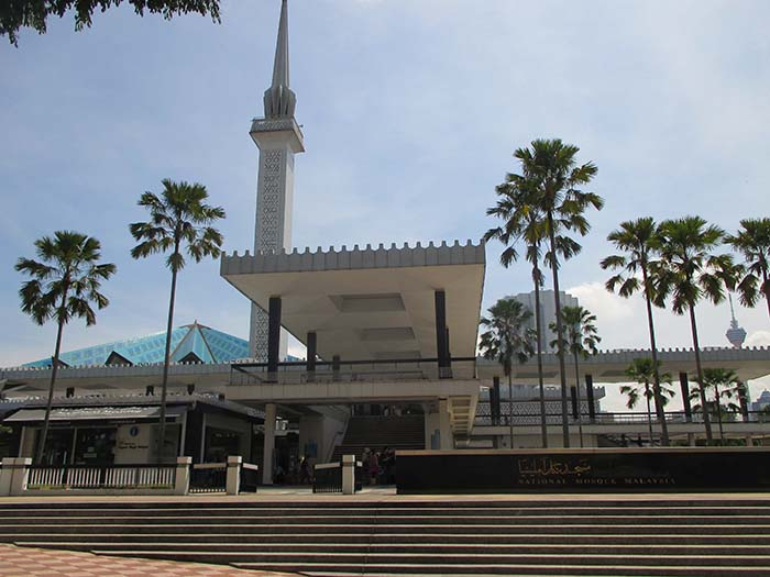 Masjid Negara National Mosque Viviendoporelmundo