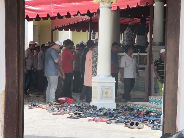 Mezquita Kampung Kling melaka