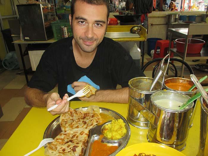 Roti canai Kuala Lumpur