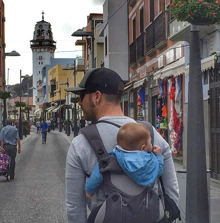 Hacer turismo con un bebé