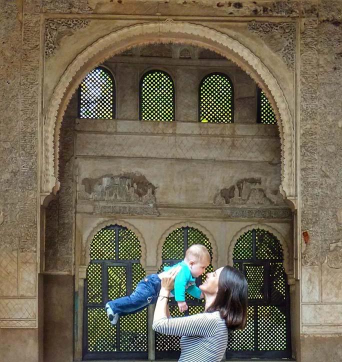 Viajar por primera vez con un bebé