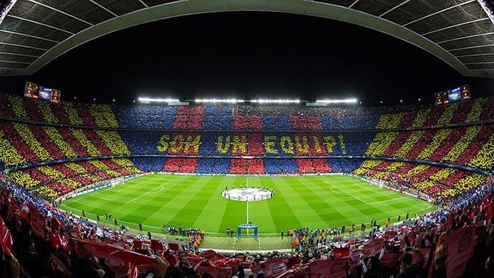 Top 10 de actividades en Barcelona. Camp Nou