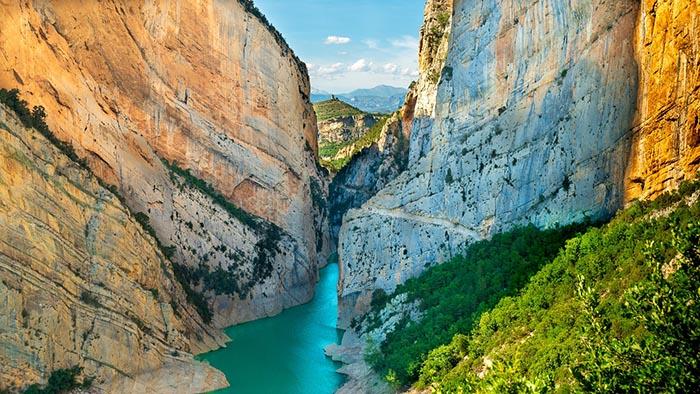 Excursiones de un día en Cataluña. Congost de Mont Rebei