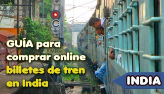 Comprar online billetes de tren en India por internet