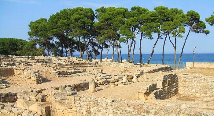 Excursiones de un día en Cataluña. Ruinas de Empúries