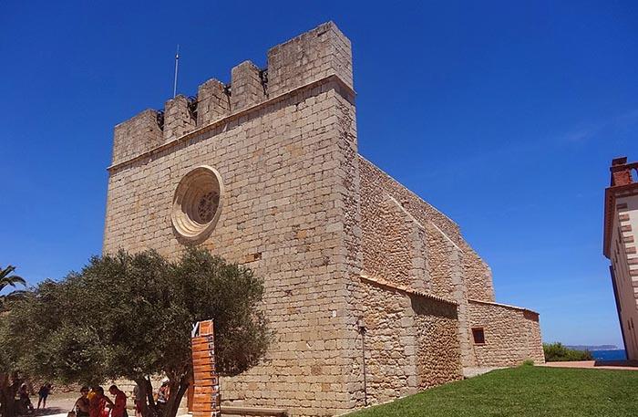 Los mejores pueblos medievales de Cataluña. Sant Martí d'Empúries