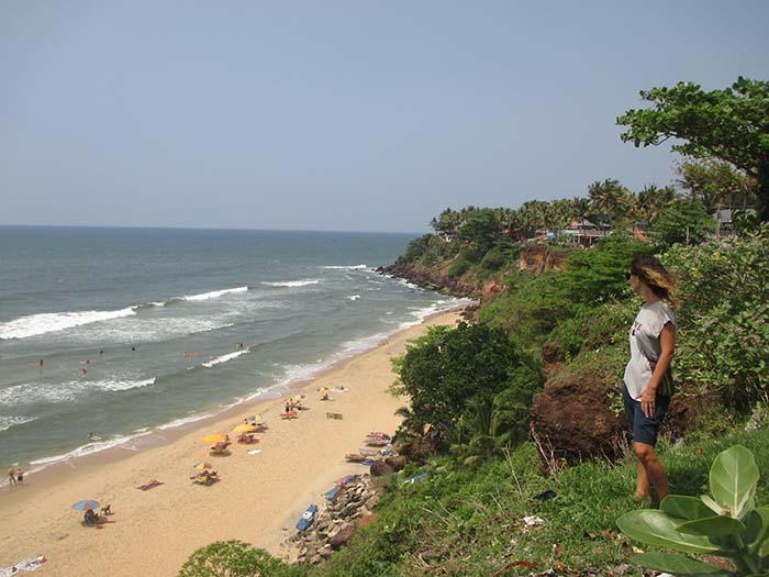 Varkala, el pueblo costero de Kerala