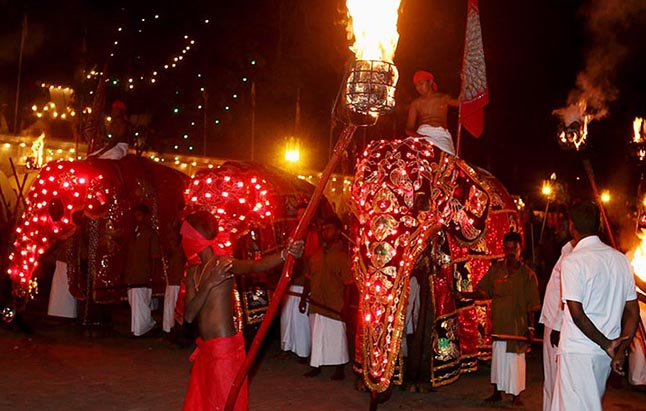 Festival Perahera en Kandy, Sri Lanka