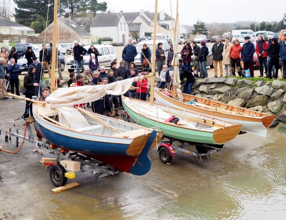 Lancement de bateaux Sko ar Mor
