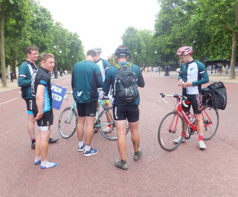 Paris to London 24-hour cycle challenge video highlights