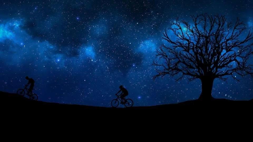 cycling at night
