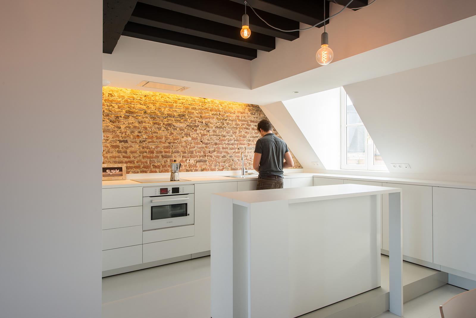 Appartement Sous Combles Comment Crer Une Cuisine Ou Un