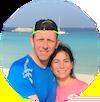 Raul y Mayte en Ses Illetes Formentera