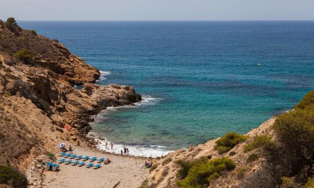 cala tio ximo benidorm beach playa spain españa vacaciones