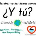 Benidorm se suma al clean up the world