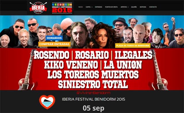 iberia festival en benidorm