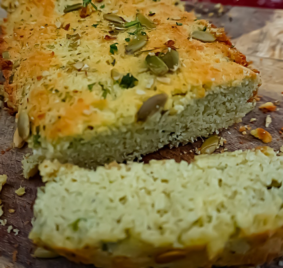 coconut bread recipe, garlic, healthy, coconut garlic bread