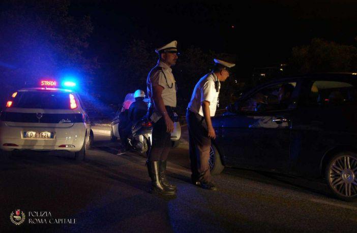 polizia locale aggressione