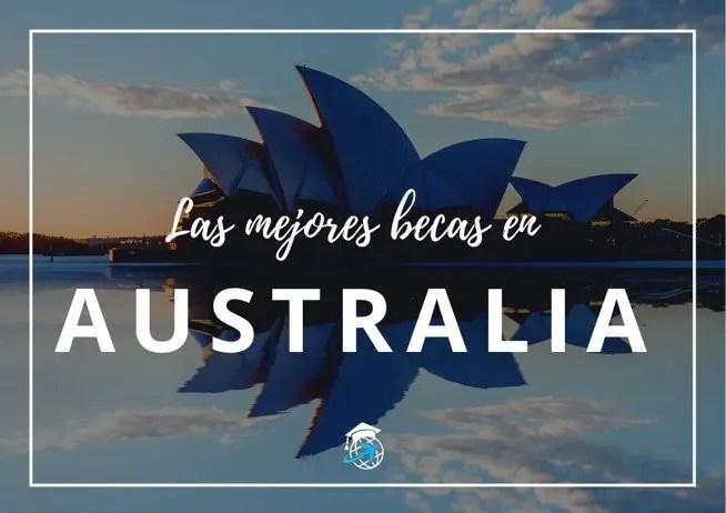 becas para estudiar en australia