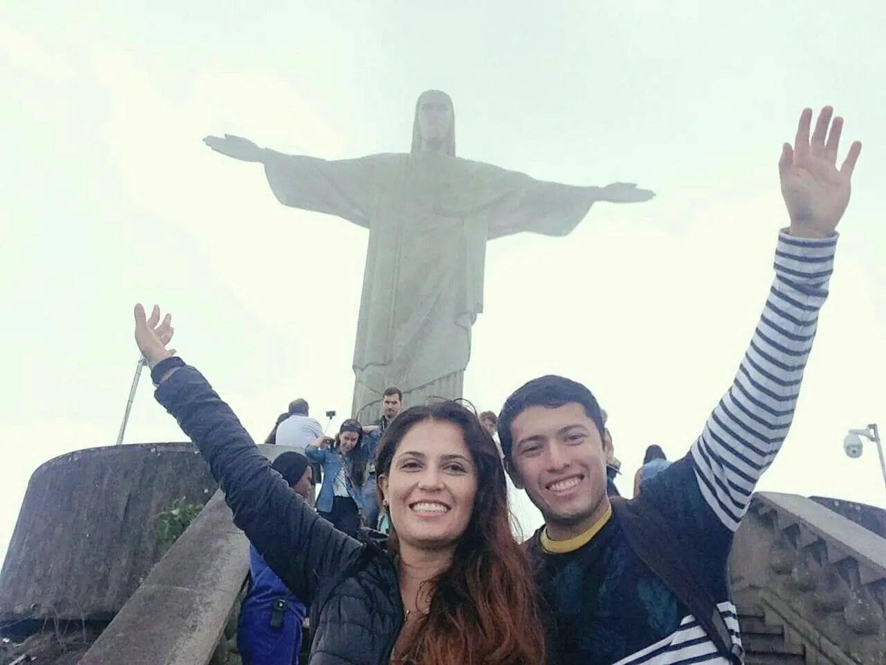 Juan disfrutando de la beca OEA en Brasil