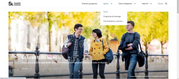 pagina web del instituto sueco