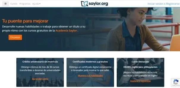 saylor.org certificados de inglés