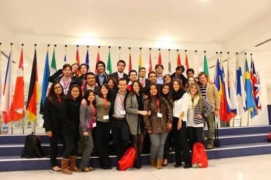 Beneficiarios de becas para estudiar en España