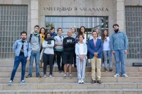 Universidad de Salamanca en alianza Becas Santander