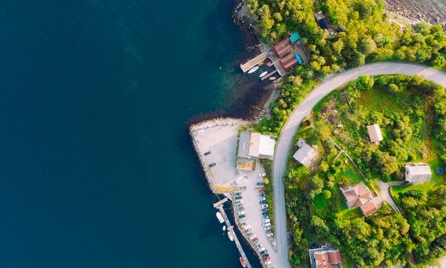 Becas en noruega y sus paisajes