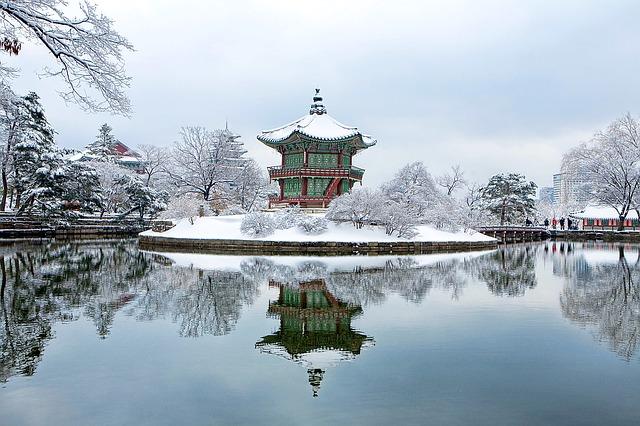 palacio en corea del sur