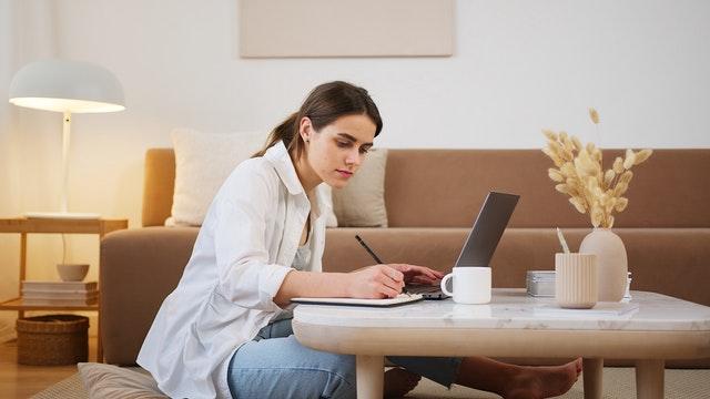 Estudiando desde casa para el toefl
