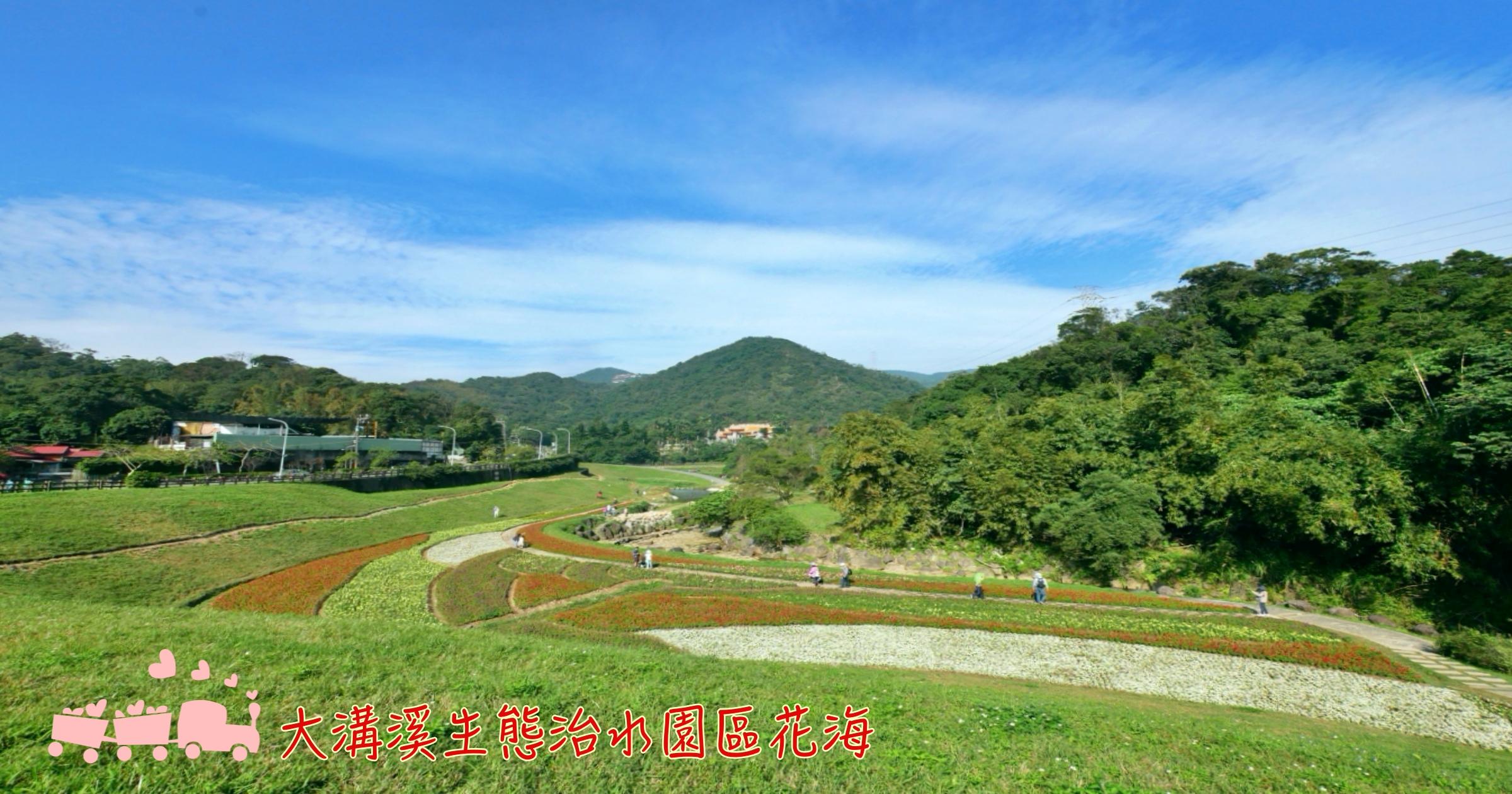 網站近期文章:[台北旅遊]大溝溪生態治水園區|農曆年前的萬株花海~彩色花毯與鯉魚山形成如畫般美景