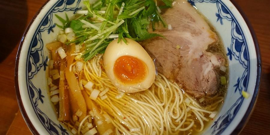 [日本.美食]銀座梵天.Ginzabonten拉麵~銀座一丁目10出口旁 @VIVIYU小世界