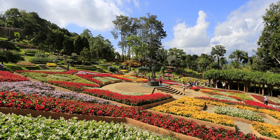Doi Tung,泰國,泰國住宿,泰國小瑞士,泰國旅遊,清萊Doi Tung皇太后行宮花園,清萊住宿,清萊小瑞士,清萊景點,皇太后花園 @VIVIYU小世界