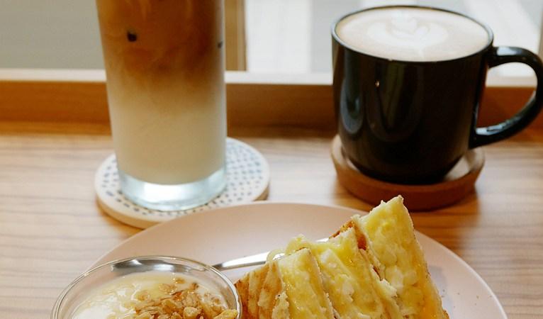 南崁咖啡,壓餅,桃園咖啡,桃園美食,蘆竹咖啡,蘆竹美食,轆轆 looloo coffee&restaurant @VIVIYU小世界