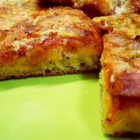 Αφράτη ζύμη για πίτσα χωρίς γλουτένη