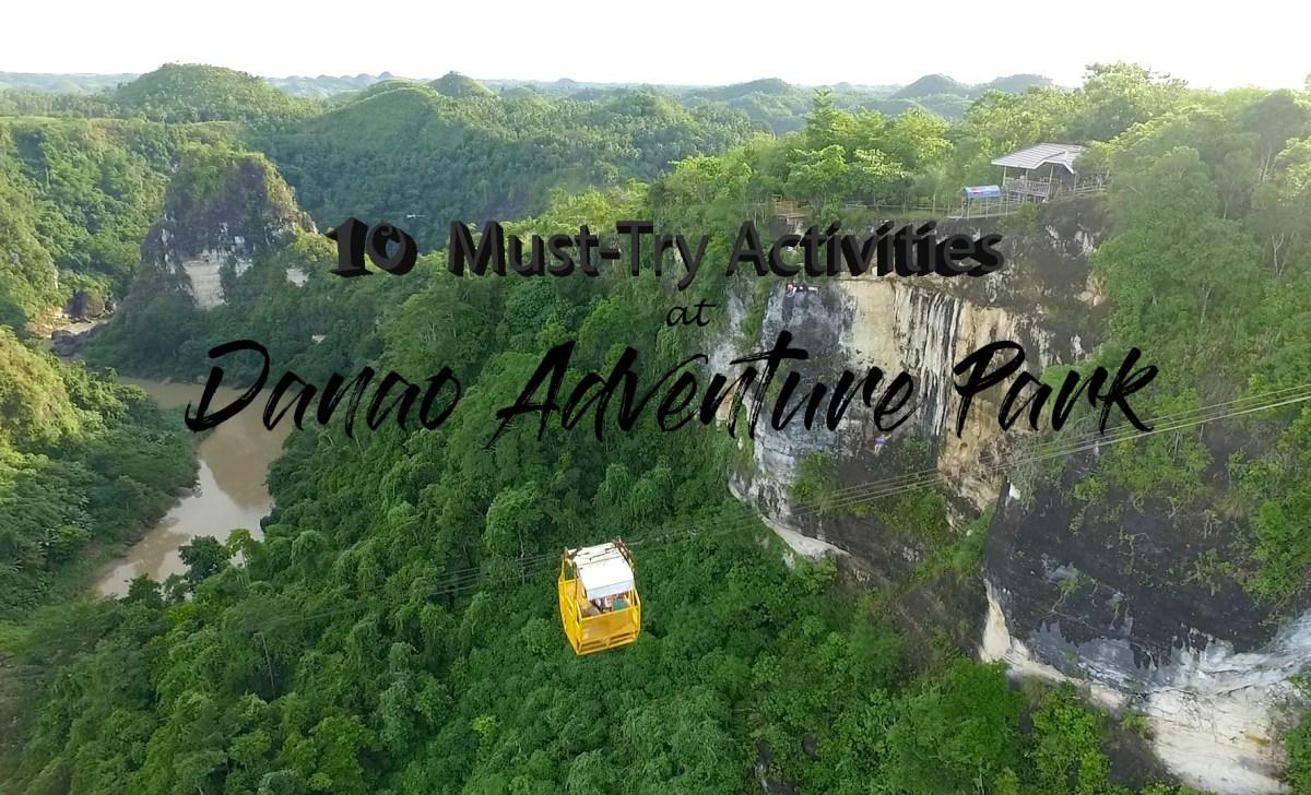 10 Must-Try Activities At Danao Adventure Park