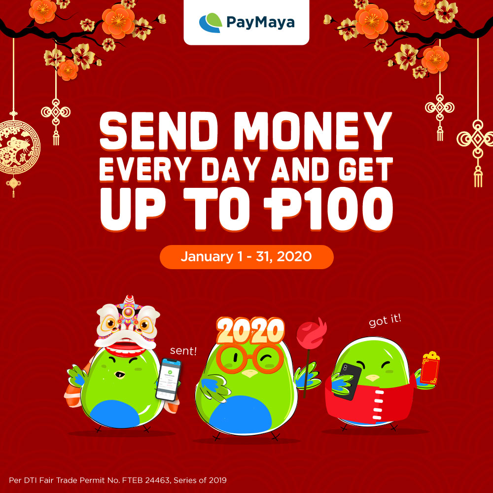 Be Lucky This Chinese New Year With Paymaya S Amazing Cashback Deals Vivomigsgee