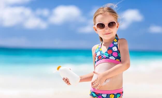 kinderhuid zonbescherming