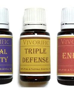 best essential oil blend set triple defense - vivorific