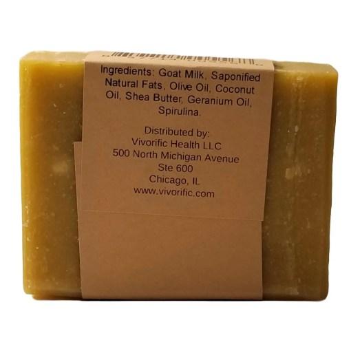 English Garden Goat Milk Soap -Vivorific Health