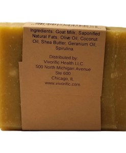 English Garden Goat Milk Soap -Vivorific Health