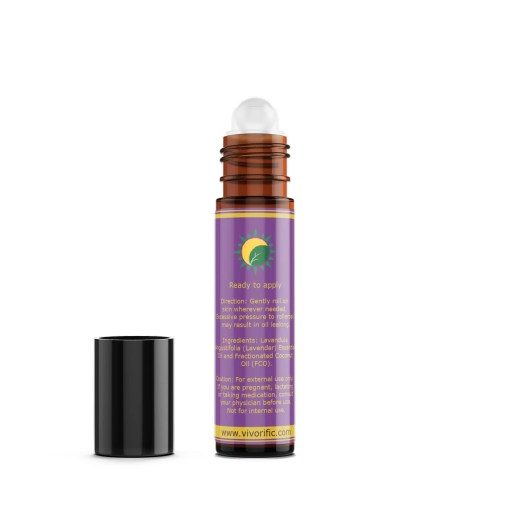 Lavender Essential Oil Roll-On - Vivorific Health