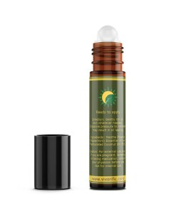 Peppermint Essential Oil Roll On - Vivorific Health-back