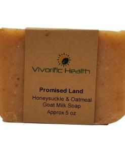 Promised Land Goat Milk Soap - Vivorific Health