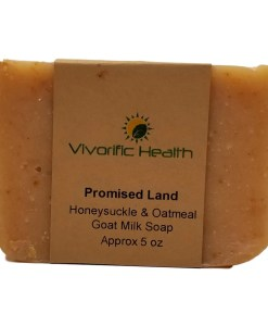 Promised Land Goat Milk Soap - Vivorific Health