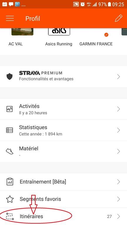 Concepteur d'itinéraires - Strava - 19